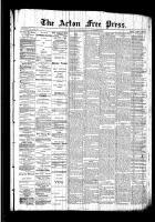 Acton Free Press (Acton, ON)3 Sep 1891