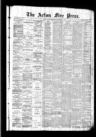 Acton Free Press (Acton, ON), September 10, 1891