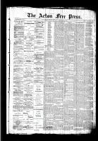 Acton Free Press (Acton, ON)24 Sep 1891