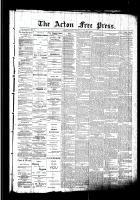 Acton Free Press (Acton, ON)1 Oct 1891