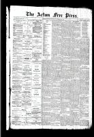 Acton Free Press (Acton, ON)19 Nov 1891