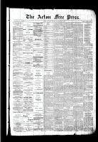 Acton Free Press (Acton, ON)17 Dec 1891