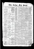 Acton Free Press (Acton, ON)28 Jan 1892