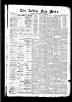 Acton Free Press (Acton, ON)4 Feb 1892