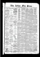 Acton Free Press (Acton, ON)18 Feb 1892