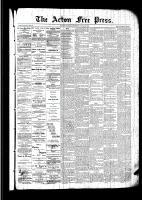 Acton Free Press (Acton, ON)3 Mar 1892