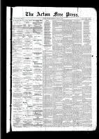 Acton Free Press (Acton, ON)31 Mar 1892