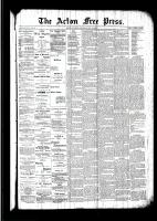 Acton Free Press (Acton, ON)19 May 1892