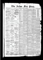 Acton Free Press (Acton, ON)23 Jun 1892
