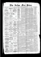 Acton Free Press (Acton, ON)22 Sep 1892