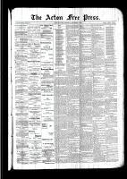 Acton Free Press (Acton, ON)3 Nov 1892