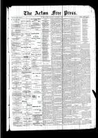 Acton Free Press (Acton, ON)1 Dec 1892