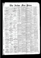 Acton Free Press (Acton, ON)8 Dec 1892