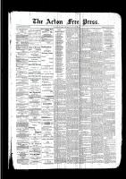 Acton Free Press (Acton, ON)12 Jan 1893
