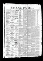 Acton Free Press (Acton, ON)19 Jan 1893