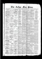 Acton Free Press (Acton, ON)2 Feb 1893