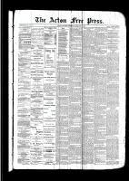 Acton Free Press (Acton, ON)16 Feb 1893