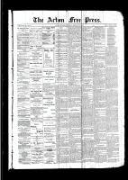 Acton Free Press (Acton, ON)23 Feb 1893