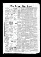 Acton Free Press (Acton, ON)9 Mar 1893