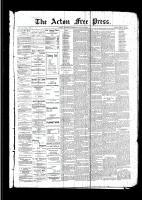 Acton Free Press (Acton, ON)16 Mar 1893