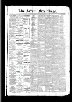 Acton Free Press (Acton, ON)23 Mar 1893
