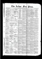 Acton Free Press (Acton, ON)30 Mar 1893