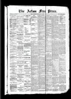 Acton Free Press (Acton, ON)18 May 1893