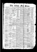 Acton Free Press (Acton, ON)29 Jun 1893