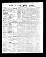 Acton Free Press (Acton, ON)24 Aug 1893