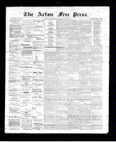 Acton Free Press (Acton, ON), September 28, 1893