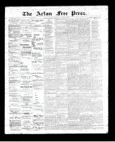 Acton Free Press (Acton, ON), October 19, 1893