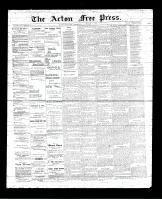 Acton Free Press (Acton, ON), November 2, 1893