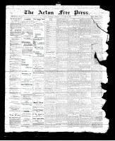 Acton Free Press (Acton, ON), November 16, 1893