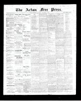 Acton Free Press (Acton, ON)7 Dec 1893