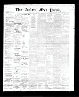 Acton Free Press (Acton, ON)21 Dec 1893
