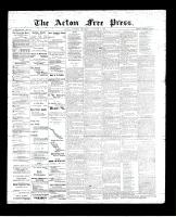 Acton Free Press (Acton, ON)4 Jan 1894