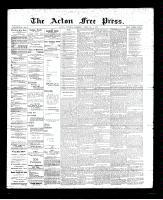 Acton Free Press (Acton, ON)1 Feb 1894