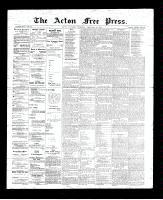 Acton Free Press (Acton, ON)15 Feb 1894
