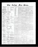 Acton Free Press (Acton, ON)1 Mar 1894