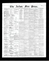 Acton Free Press (Acton, ON)8 Mar 1894