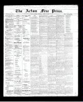 Acton Free Press (Acton, ON)19 Apr 1894