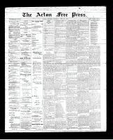 Acton Free Press (Acton, ON)26 Apr 1894