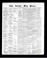 Acton Free Press (Acton, ON)10 May 1894