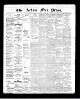 Acton Free Press (Acton, ON)17 May 1894