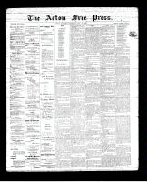 Acton Free Press (Acton, ON)31 May 1894