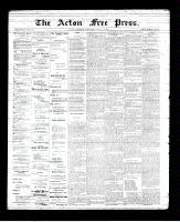 Acton Free Press (Acton, ON)21 Jun 1894