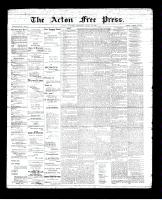 Acton Free Press (Acton, ON)28 Jun 1894