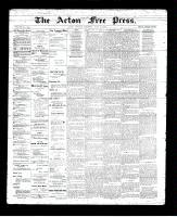 Acton Free Press (Acton, ON)5 Jul 1894