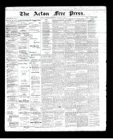 Acton Free Press (Acton, ON)9 Aug 1894