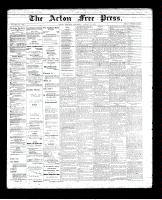 Acton Free Press (Acton, ON)23 Aug 1894